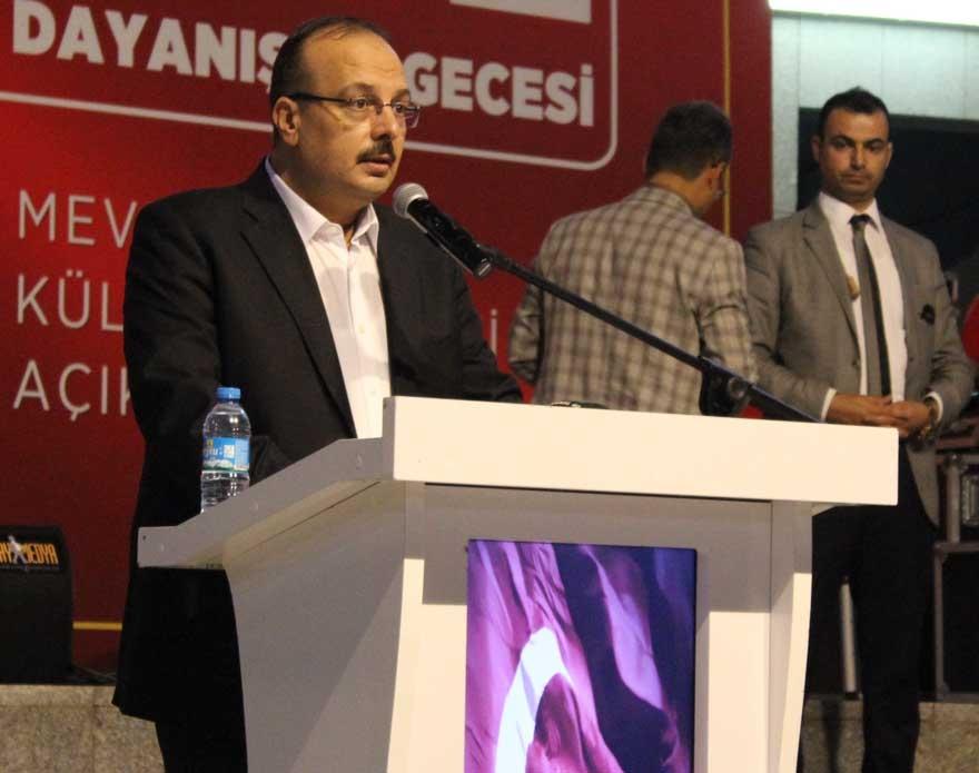 Konya'da 'Milli İrade Dayanışma Gecesi' düzenlendi 15