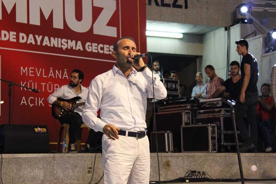 Konya'da 'Milli İrade Dayanışma Gecesi' düzenlendi 28