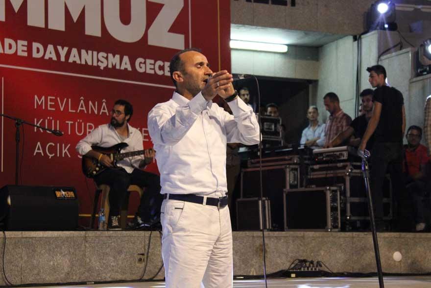 Konya'da 'Milli İrade Dayanışma Gecesi' düzenlendi 29