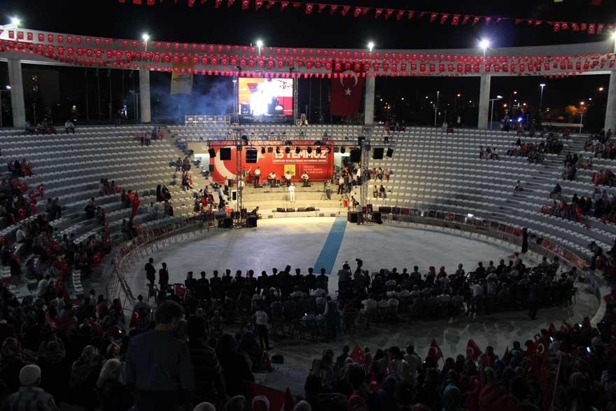 Konya'da 'Milli İrade Dayanışma Gecesi' düzenlendi 32