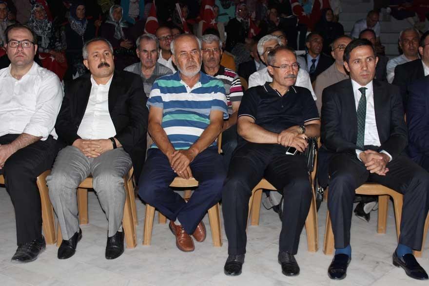 Konya'da 'Milli İrade Dayanışma Gecesi' düzenlendi 4