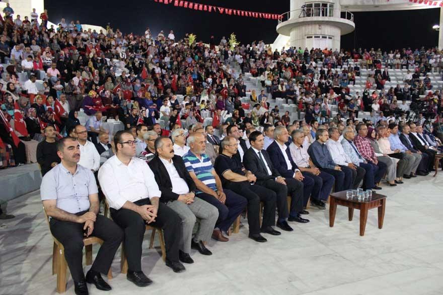 Konya'da 'Milli İrade Dayanışma Gecesi' düzenlendi 5