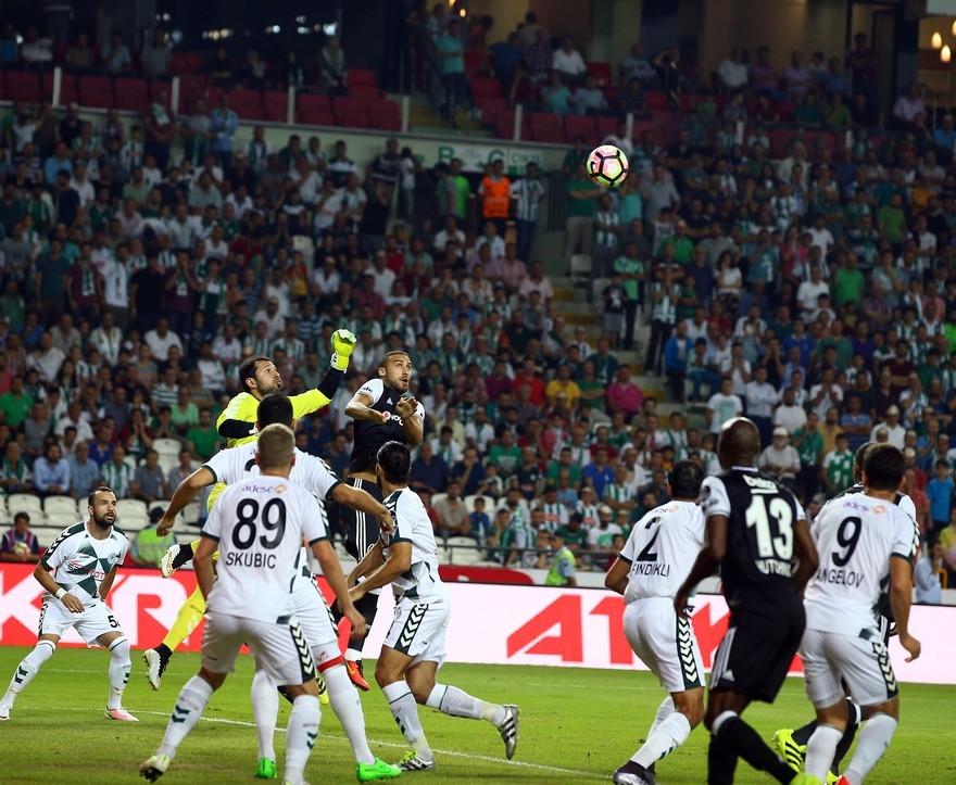 Konyaspor-Beşiktaş: 2-2 11