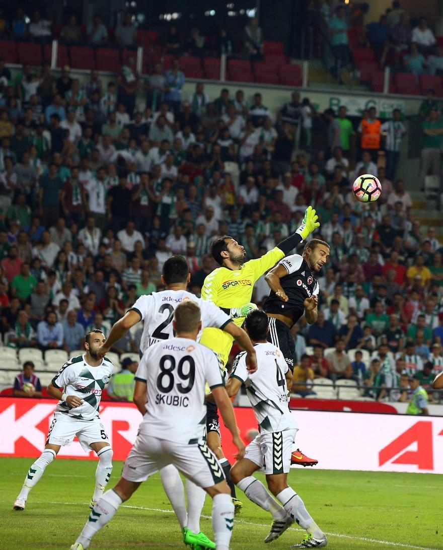 Konyaspor-Beşiktaş: 2-2 12