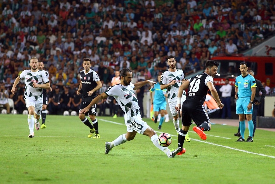 Konyaspor-Beşiktaş: 2-2 15