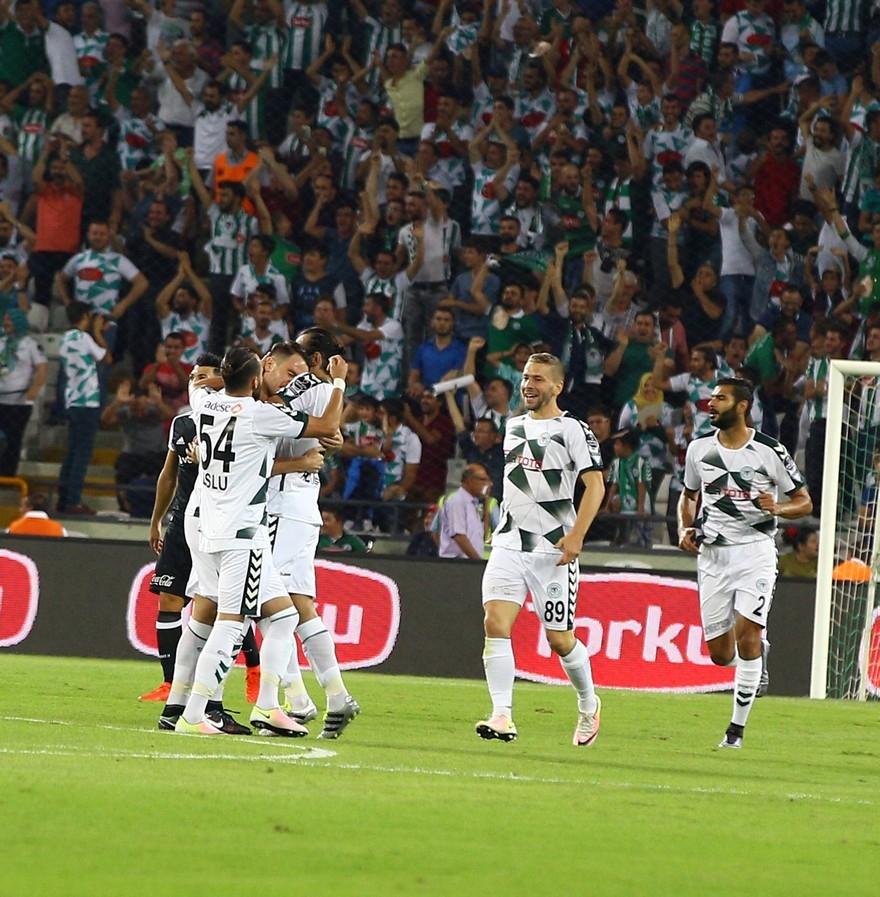 Konyaspor-Beşiktaş: 2-2 18