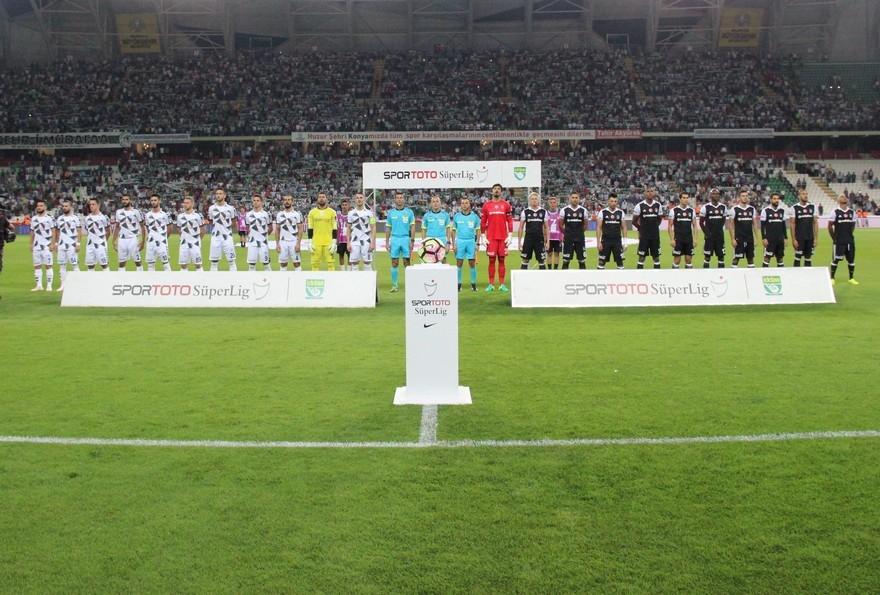 Konyaspor-Beşiktaş: 2-2 7