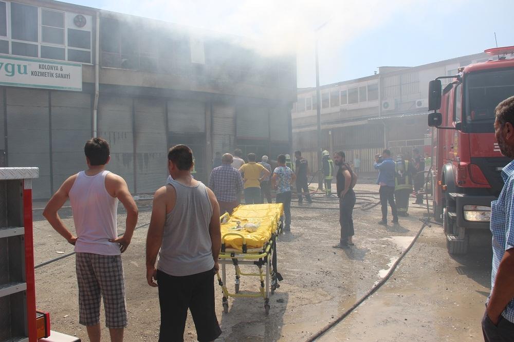 Konya'da işyerinde çıkan yangında bir çocuk yanarak can verdi 1