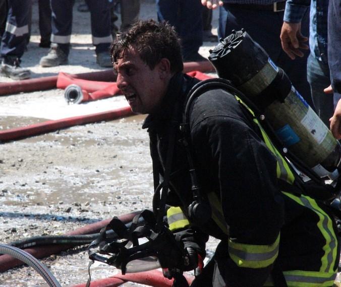 Konya'da işyerinde çıkan yangında bir çocuk yanarak can verdi 10