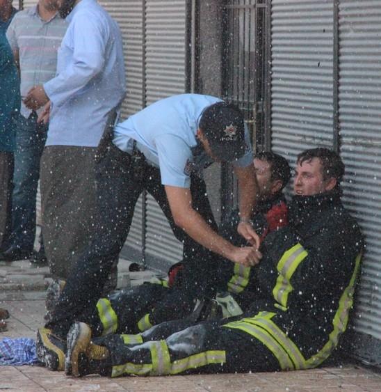 Konya'da işyerinde çıkan yangında bir çocuk yanarak can verdi 12
