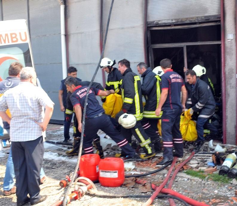 Konya'da işyerinde çıkan yangında bir çocuk yanarak can verdi 13