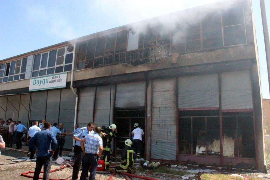 Konya'da işyerinde çıkan yangında bir çocuk yanarak can verdi 2