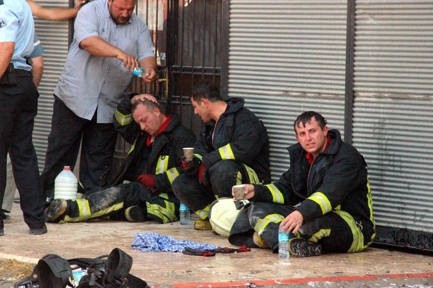 Konya'da işyerinde çıkan yangında bir çocuk yanarak can verdi 3