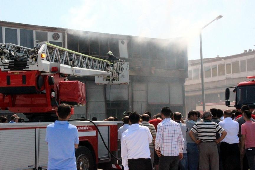 Konya'da işyerinde çıkan yangında bir çocuk yanarak can verdi 7