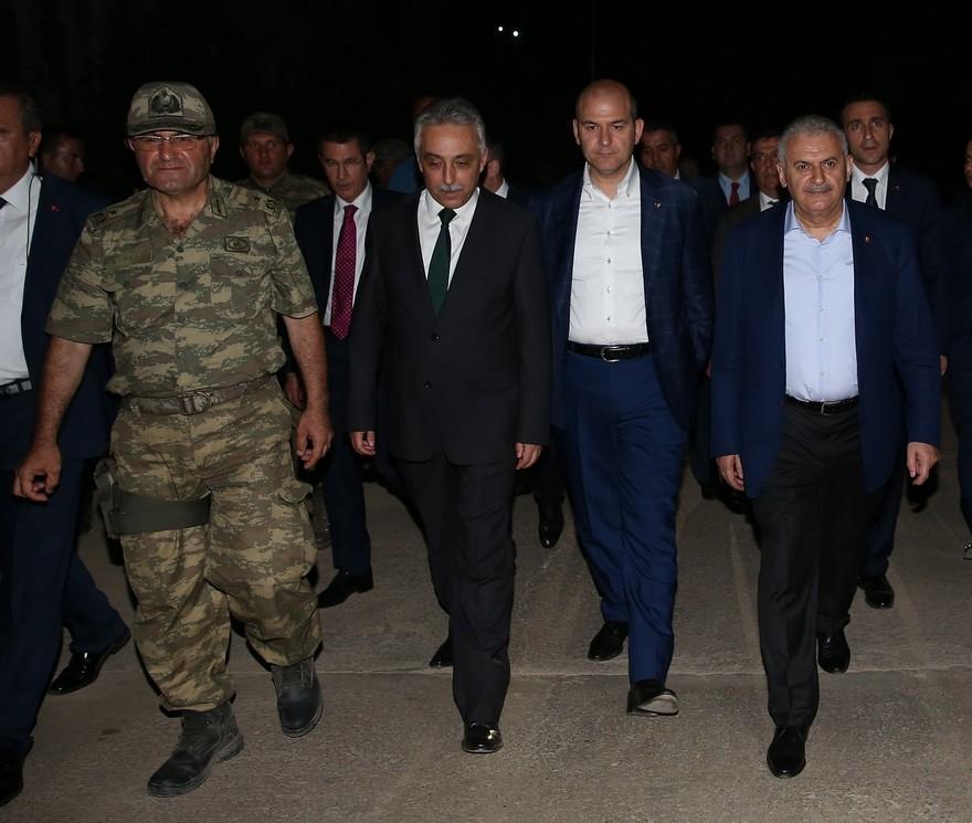 Başbakan'dan Çukurca'ya sürpriz ziyaret 7