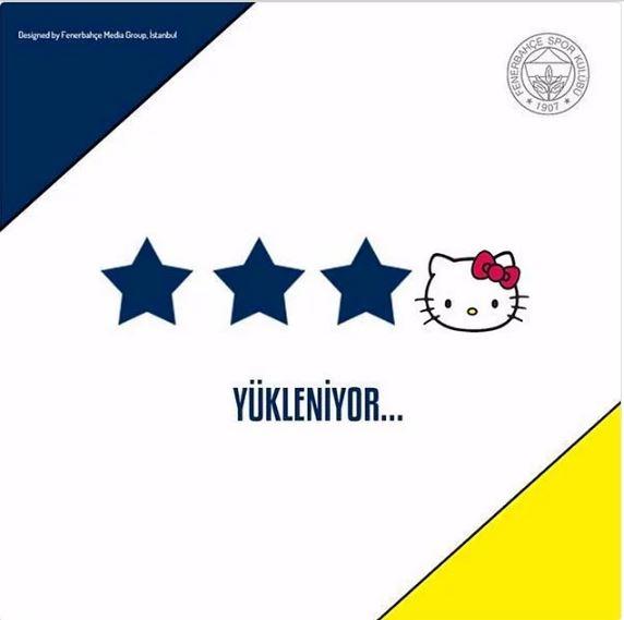 Fenerbahçe'nin Hello Kitty ile anlaşmasının ardından yapılan mizahl 1