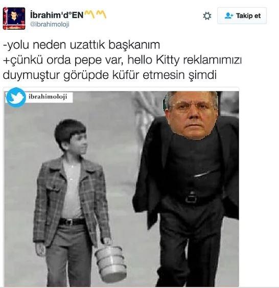 Fenerbahçe'nin Hello Kitty ile anlaşmasının ardından yapılan mizahl 2