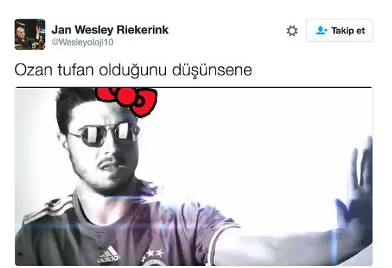 Fenerbahçe'nin Hello Kitty ile anlaşmasının ardından yapılan mizahl 5