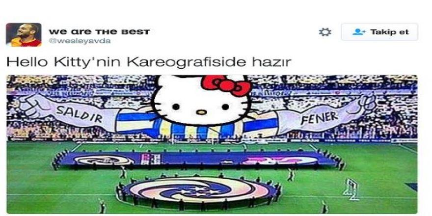 Fenerbahçe'nin Hello Kitty ile anlaşmasının ardından yapılan mizahl
