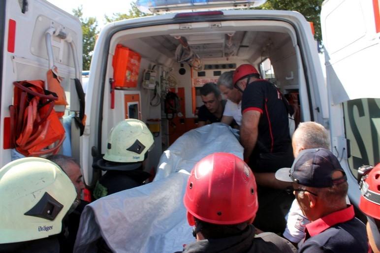 Konya'da okul inşaatında göçük: 1 ölü 7