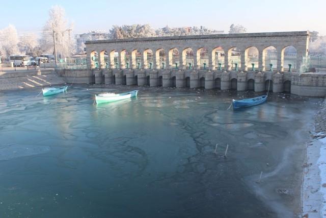 Beyşehir Gölü beyaz gelinliğini giydi 2