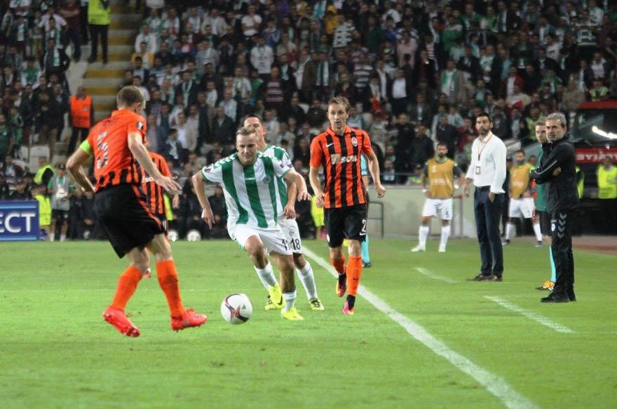 Atiker Konyaspor 0-1 Shakhtar Donetsk 12