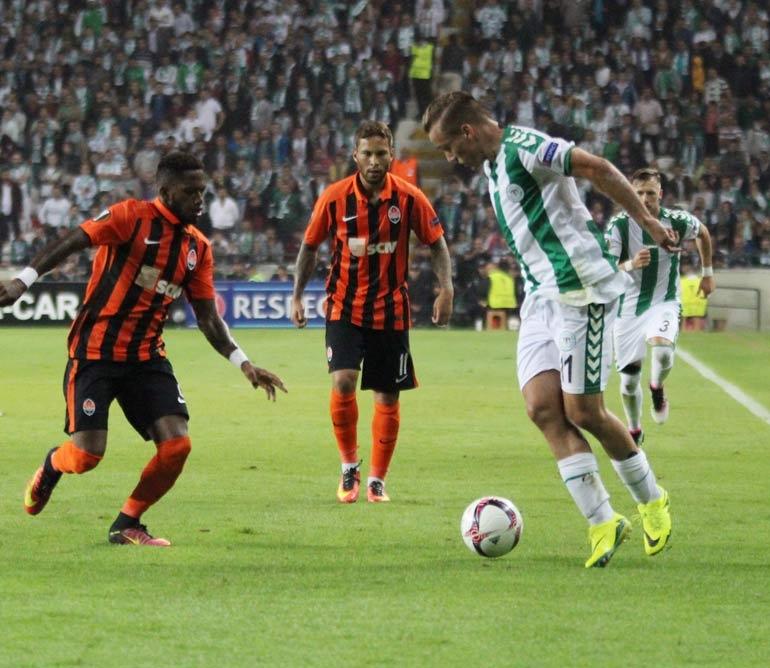 Atiker Konyaspor 0-1 Shakhtar Donetsk 14