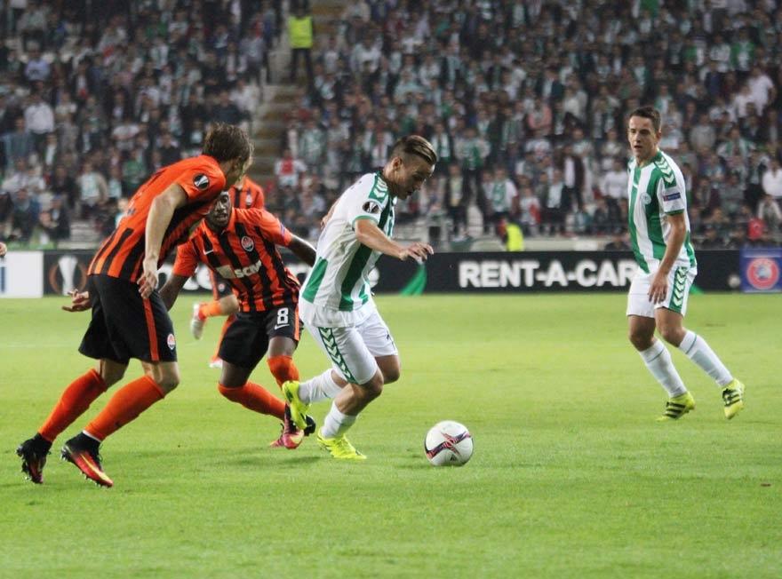 Atiker Konyaspor 0-1 Shakhtar Donetsk 15