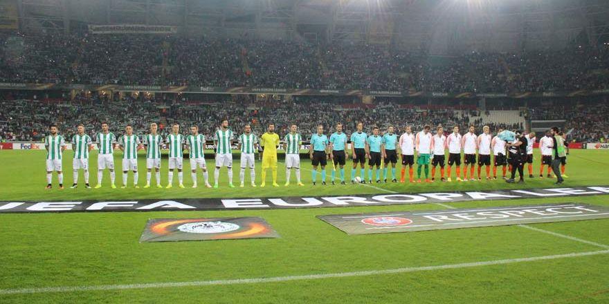 Atiker Konyaspor 0-1 Shakhtar Donetsk