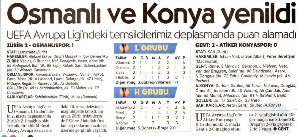 KAA Gent-Atiker Konyaspor maçının basına yansımaları 16