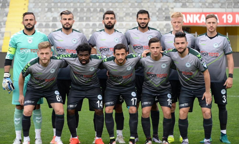 Gençlerbirliği-Konyaspor: 0-1 1