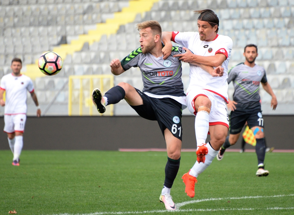 Gençlerbirliği-Konyaspor: 0-1 3