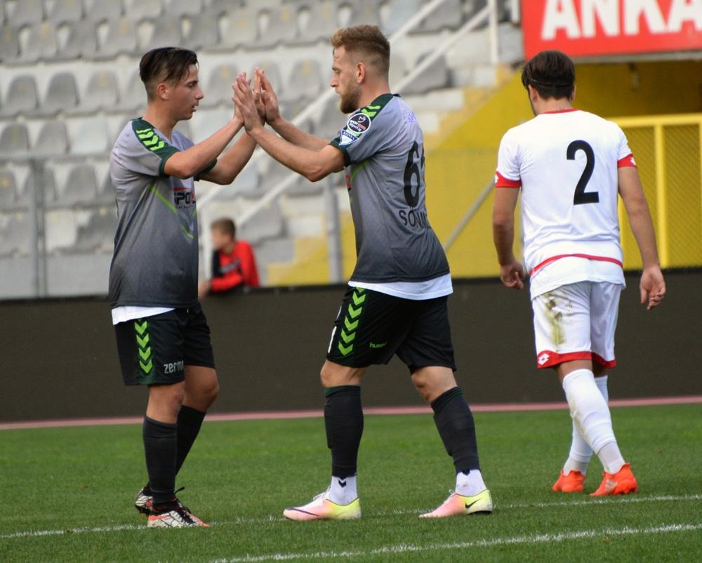 Gençlerbirliği-Konyaspor: 0-1 7