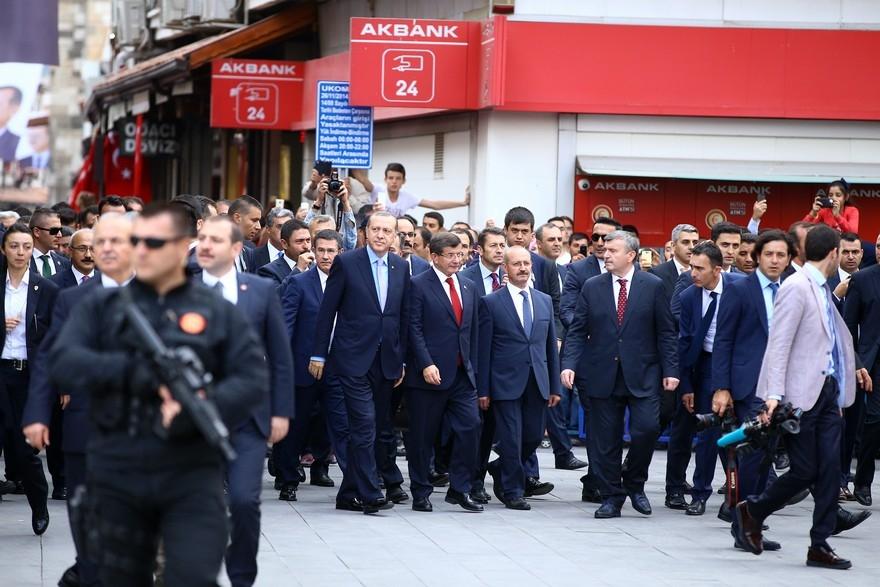 Cumhurbaşkanı Erdoğan Konya'da 12