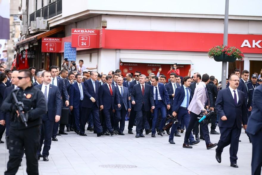 Cumhurbaşkanı Erdoğan Konya'da 13