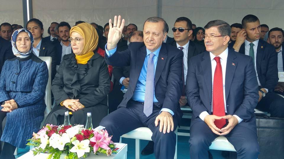 Konya Erdoğan'ı bağrına bastı 12