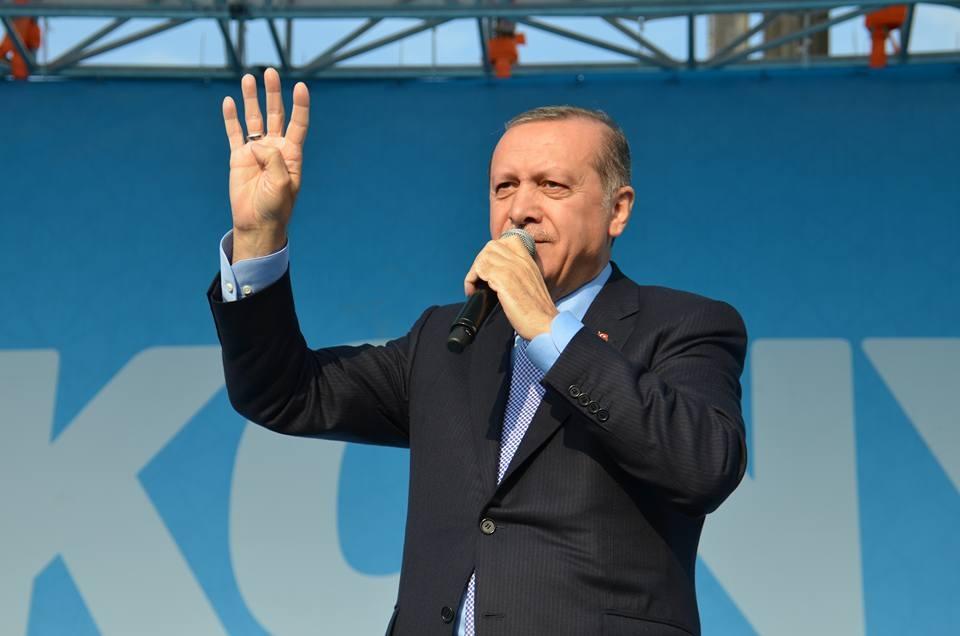 Konya Erdoğan'ı bağrına bastı 15