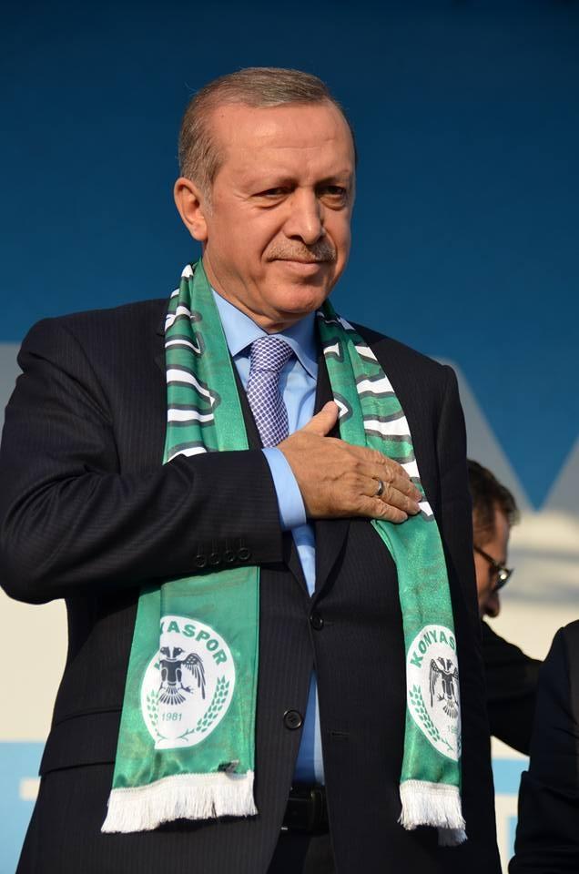 Konya Erdoğan'ı bağrına bastı 16