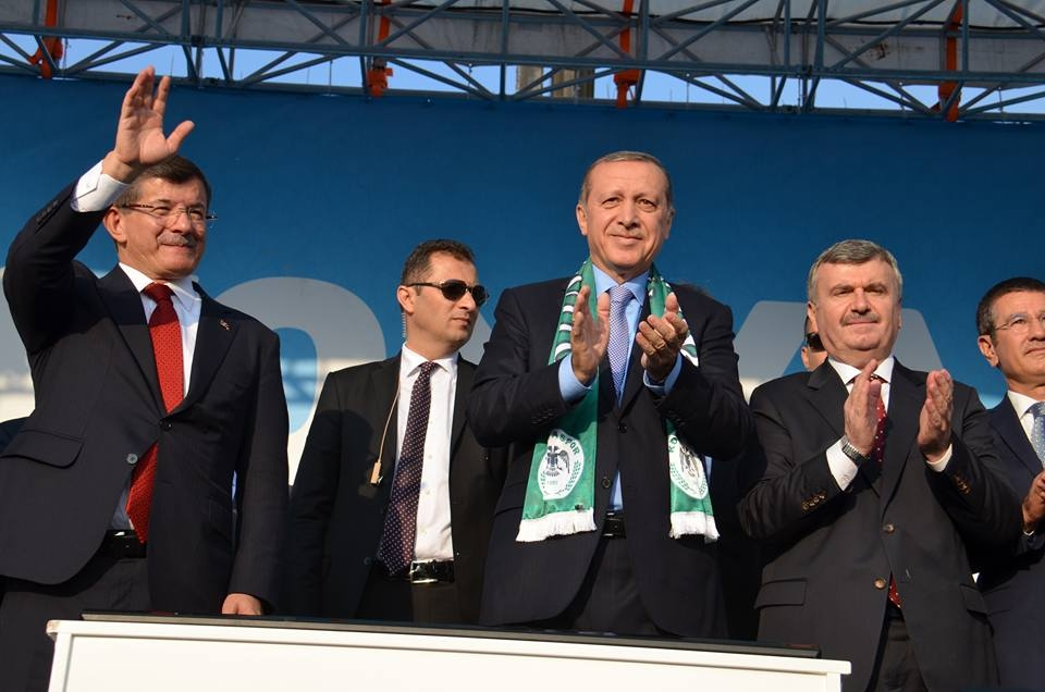 Konya Erdoğan'ı bağrına bastı 19