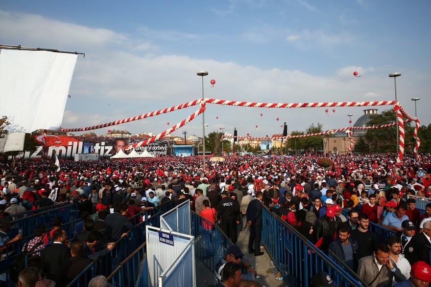 Konya Erdoğan'ı bağrına bastı 2
