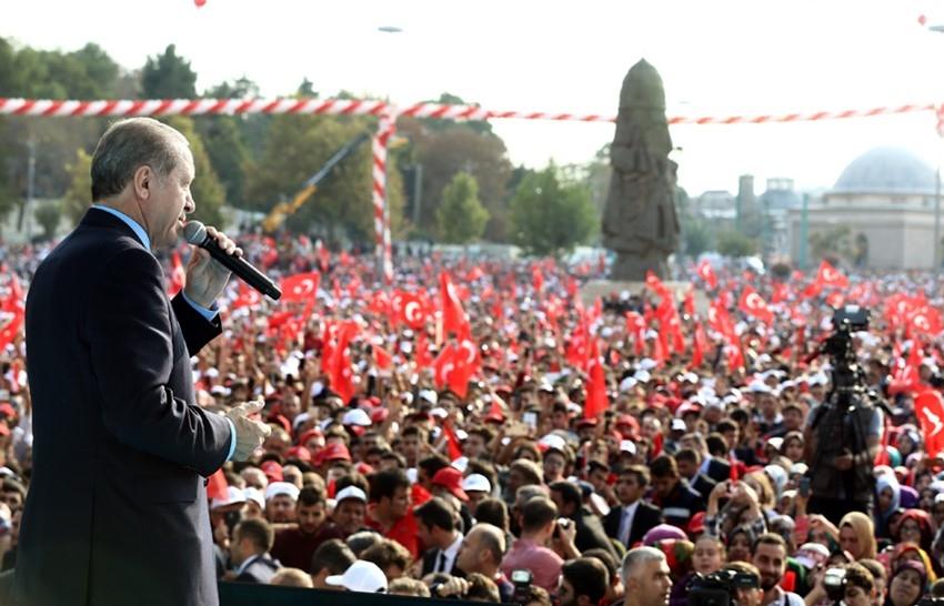 Konya Erdoğan'ı bağrına bastı 21