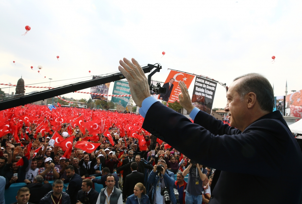 Konya Erdoğan'ı bağrına bastı 9