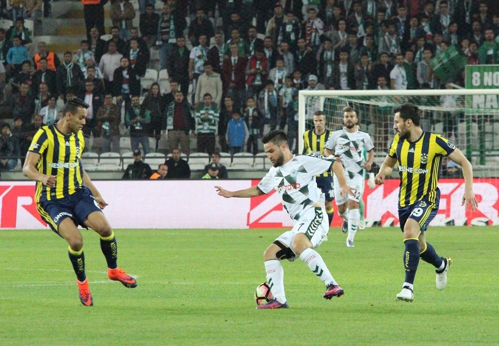 Konyaspor: 0 Fenerbahçe: 1 1