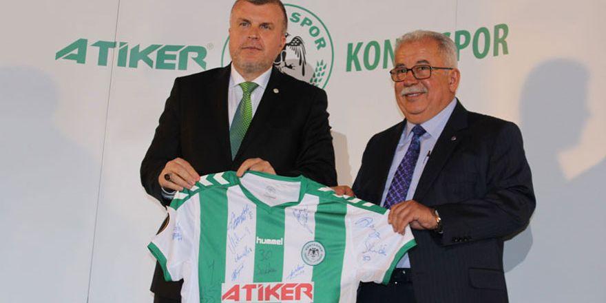 Atiker Konyaspor, sponsorlarını ödüllendirdi