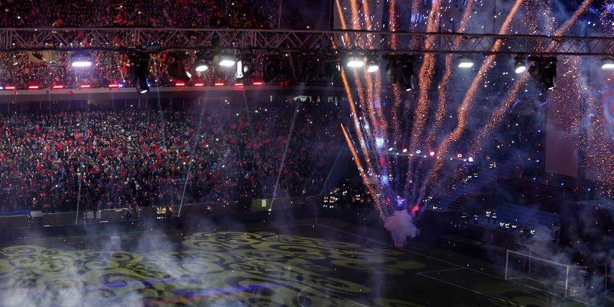 Şenol Güneş Spor Kompleksi açılış töreni