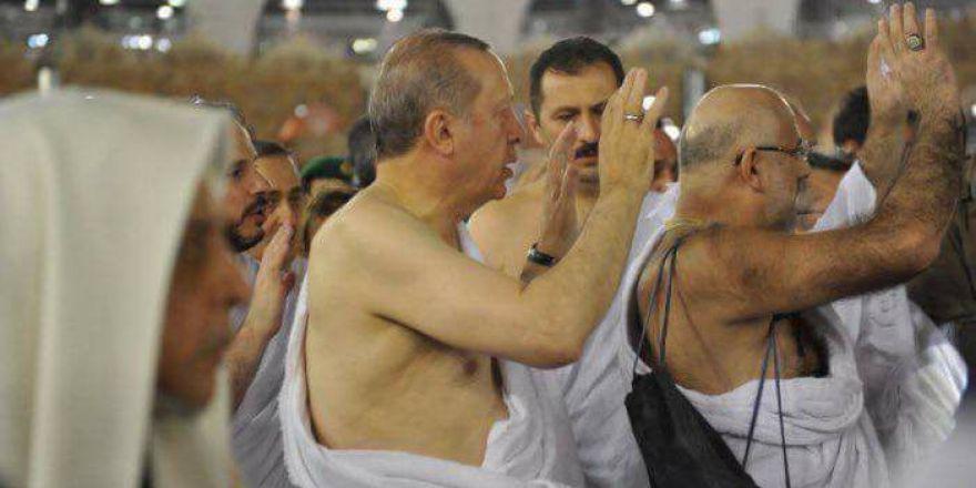 Erdoğan, Kabe'yi ziyaret ederek umre yaptı