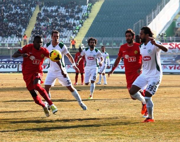 Torku Konyaspor 4 - Eskişehirspor 1 1