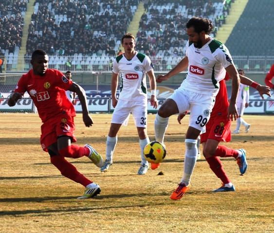 Torku Konyaspor 4 - Eskişehirspor 1 2
