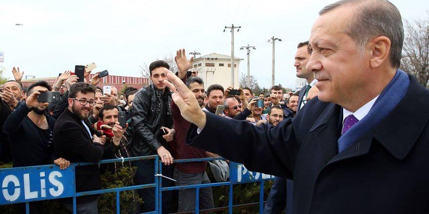 Konyalılar Cumhurbaşkanı Erdoğan'ı böyle karşıladı