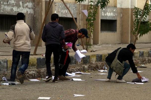 Ezher'de darbe karşıtlarına polis müdahalesi 6